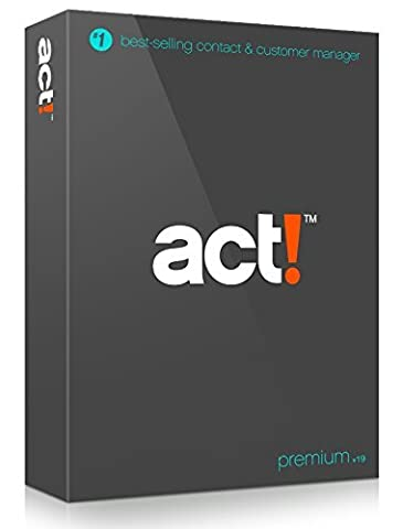 ACT! Premium v19 Perpetual - Includes 1 year of Support & 1 year of Update Releases (Not a (Office Small Business Premium)