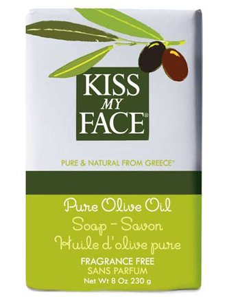 Kiss My Face Pure Olive Oil Bar Soap, FragranceFree 8 oz