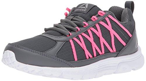 Reebok Womens Speedlux 2.0 Lega Sneaker / Rosa Solare / Bianco / Pe