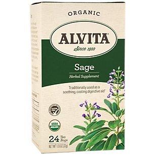 Alvita Tea, 24 Tea Bags - Sage