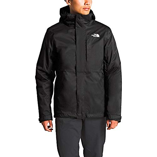 The North Face Men's Lone Peak Triclimate Insulated Dryvent 3 in 1 Jacket RTO (TNF Black/White, X-Large)