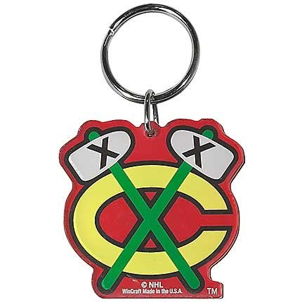 WinCraft NHL 78859012 Chicago Blackhawks Premium Acrylic Key ()