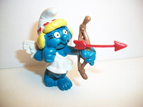 Cupid Figure (Smurfette Cupid Vintage PVC Figure)