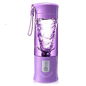 Multi-functional Rechargeable Portable Juicer easy to clean Black