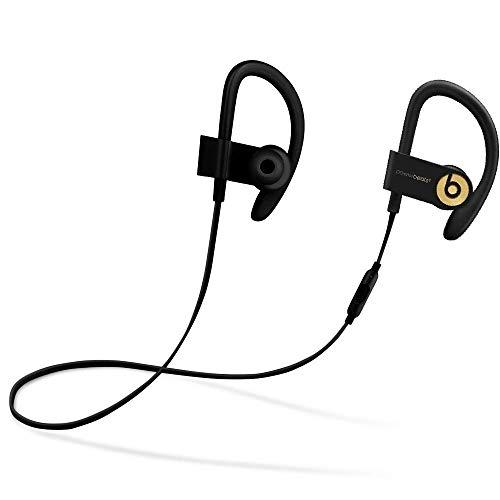 Powerbeats3 Wireless In-Ear Headphones - Trophy Gold (Black/Gold) (Renewed)