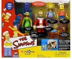 シンプソンズ - Family クリスマス - Interactive Environment w/5 exclusive figures