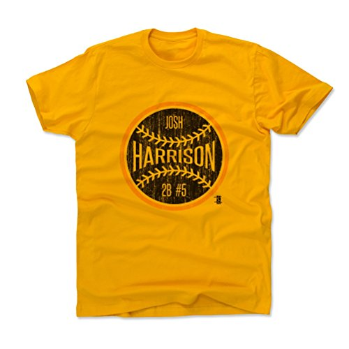 Price comparison product image Josh Harrison Ball K Pittsburgh Kids T-Shirt 14-16Y Gold