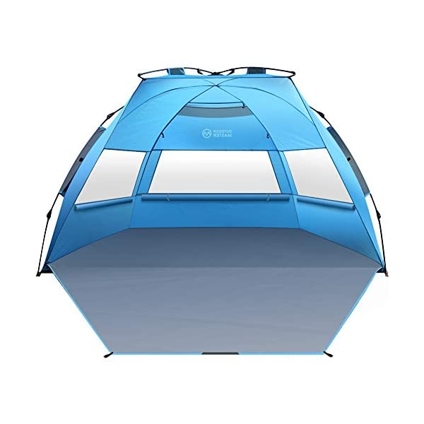 Outdoormaster Pop Up Beach Tent Xl Easy Setup Portable