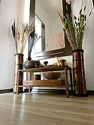 Wooden Floor Vases, Garden Vases, Patio Decor, Bamboo Furniture, Lodge Decor, Rustic Decor