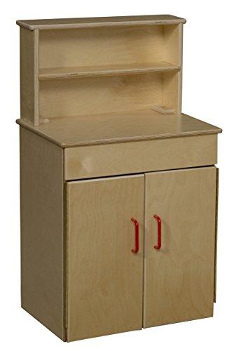 Wood Designs 20700 Classic Deluxe (Birch Natural Hutch)
