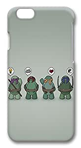 iPhone 6 Cases, Funny Tmnt Teenage Mutant Ninja Turtles Protective Snap-on Hard Case Back Cover Protector Slim Rugged Shell Case For iPhone 6 (4.7 inch)