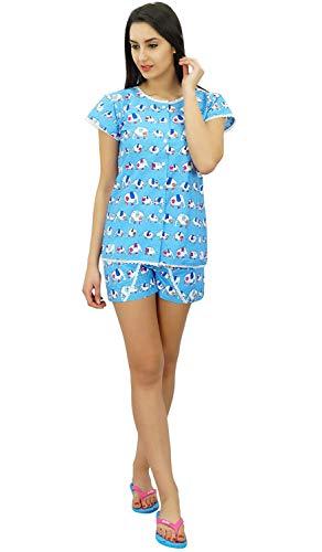 Camisa Botones Sleepwear Dormir Home L Corto Lindo Conjunto Traje Pantalón De Noche Algodón Y Con q5Y5Rp
