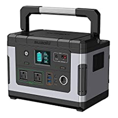 500Wh Ultra CapacityAs its name suggests, G500 has 500 watt-hour power stored in the lithium battery pack. Unlike a traditional diesel generator, G500 is quiet and clean, no fumes or noise. This is perfect for camping sites, outdoor parties, ...