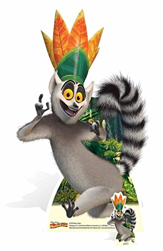 King Julien Madagascar Movie Life Size Cardboard Cutout SC970 (Best Of King Julian Madagascar)