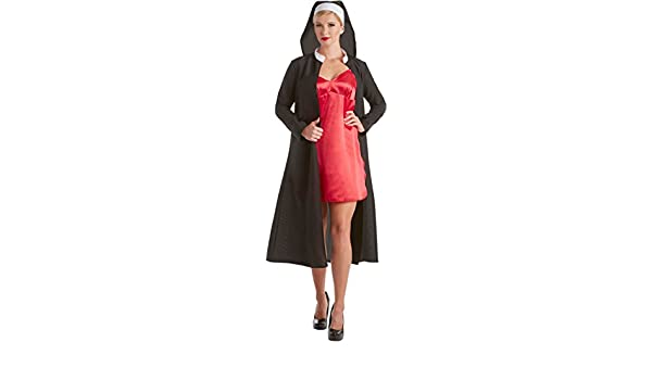 American Horror Story Asylum Sister Jude Martin Womens Costume Black/Red