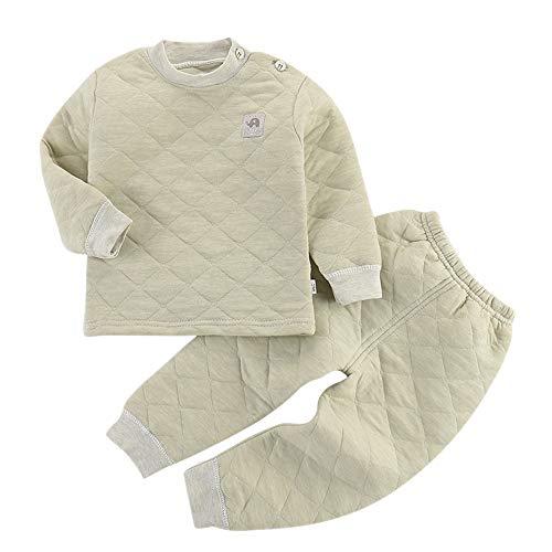 Set Pantaloni Biancheria Top Termica Età E 6 Vestiti Neonato Unisex Intima Verde Manica Per Di Lunga 1 Bozevon dSgwqd
