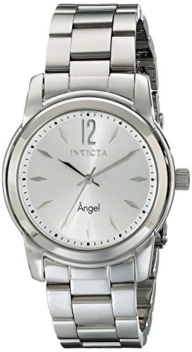 Invicta Women's 17419 Angel Analog Display Swiss Quartz Silver Watch