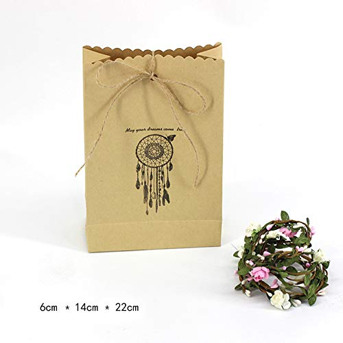 Bags & Wrapping Supplies - Packing Paper Treat Gift Bag Aper Dreamnet Hangs Wind Bell Favor Open 6 14 22cm - & Wind Pearl Metal Christmas Bell Good Cow Bottle Ornament Bell Binky Chimes Decor