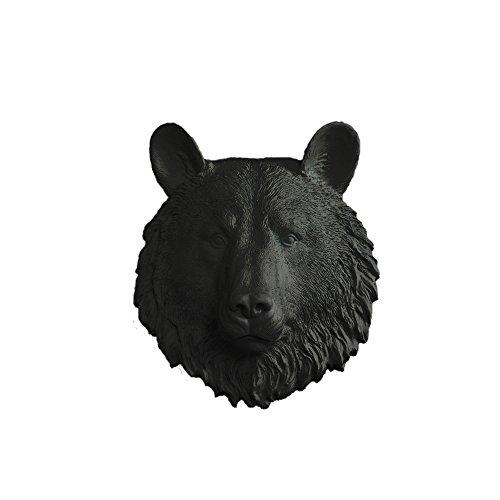 resin bear head - 8