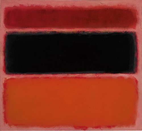 Berkin Arts Mark Rothko Giclee Canvas Print Paintings Poster Reproduction Large Size(Untitled1)