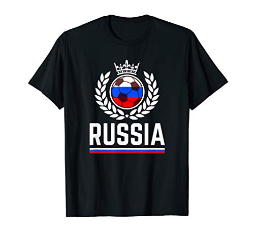 Russia Soccer Jersey 2019 Russian Football Team Fan Shirt (Best Russian Soccer Team)