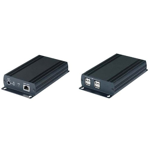 Calrad 40-UE02 4-Port USB 2.0 Hub and Cat5e Balun/Extender by Calrad