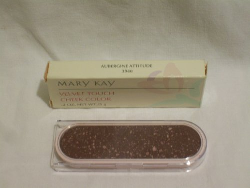 - Mary Kay Powder Perfect Velvet Touch Cheek Color Blush ~ Aubergine Attitutde / Grape #3940