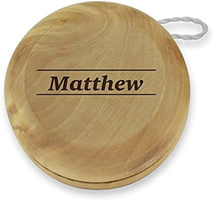 Dimension 9 Matthew Classic Wood YoYo with Personalized
