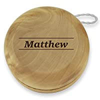 Dimension 9 Matthew Classic Wood Yoyo with Laser Engraving