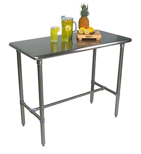 (John Boos Cucina Americana Classico Prep Table Size: 48