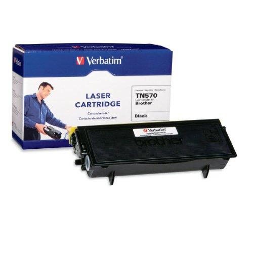 Verbatim Brother TN570 Laser DCP-8040, 8045D, HL-5140, HL-5150 Series, HL-5170 Series, MFC-8220, MFC-8440, MFC-8840 Series DCP-8040, 8045D, HL-5140, 5150D, 5170DN, MFC-8220, 8440 (96001) Black, Office Central