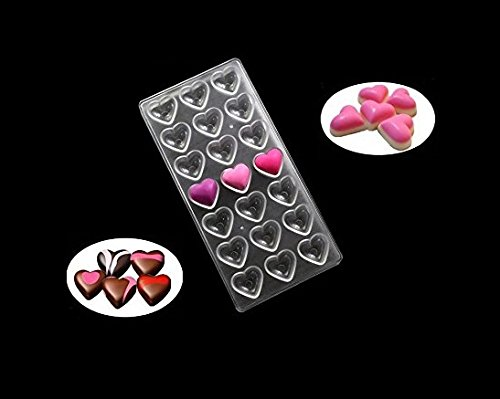 heart chocolate mold - 3