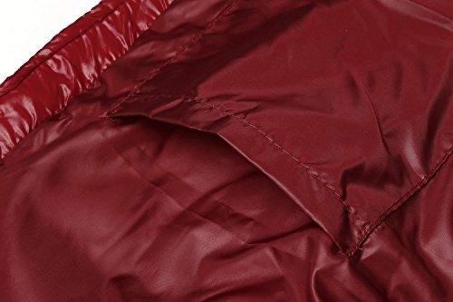 Hombre Rojo Coofandy Ligero sin nbsp;Parka Chaqueta Chaleco Acolchado Mangas Invierno de xwnRHASw