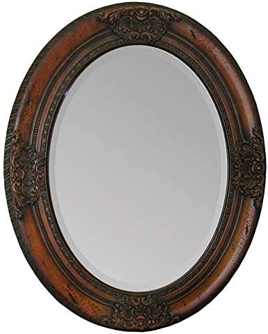 Ren-Wil MT899 Wall Mount Mirror by Jonathan Wilner and Paul De Bellefeuille, 30 by 24-Inch