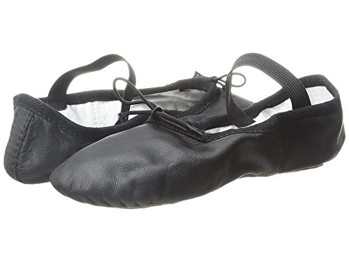 Toddler Girl's Bloch 'Dansoft' Ballet Flat, Size 9.5 C - Bla