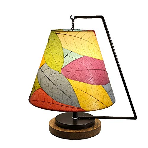 Pendulum Shade Table Lamp in Multi-Color,15 Inches Long x 12 Inches Wide x 17 Inches High - Galilea Table Lamp