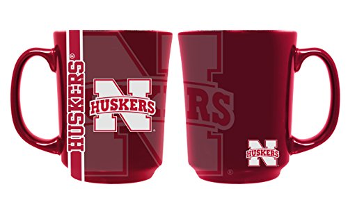 The Memory Company NCAA University of Nebraska Reflective Mug, One Size, Multicolor