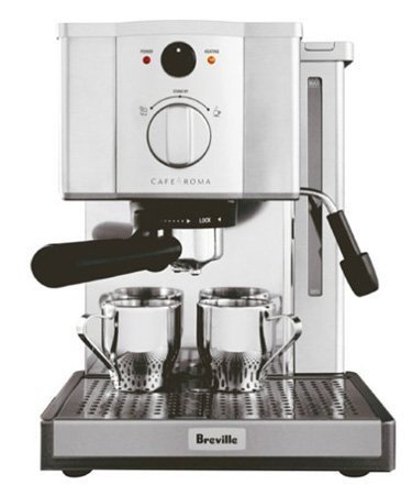 Breville ESP8XL Cafe Roma stainless espresso máquina para hacer by Breville