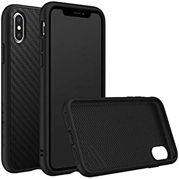 brand new 2ff3d dffbd RhinoShield Full Impact Protection Case for [ iPhone X ], SolidSuit Series,  Military Grade Drop Protection, Supports Wireless Charging, Slim, Scratch  ...