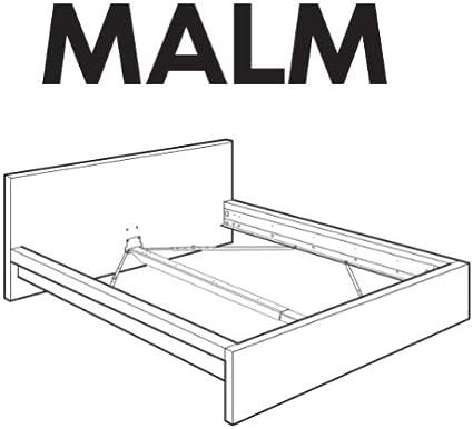 Ikea - Piezas de Repuesto para Estructura de Cama Malm ...
