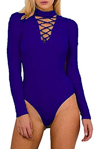 lace detail bodycon royal blue - 8