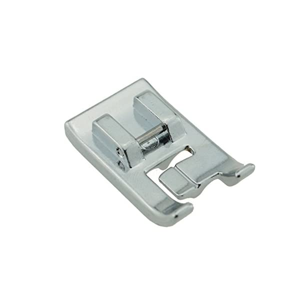 Juki Brother White Euro-Pro New Home Simplicity Babylock Janome Elna and More! Fits All Low Shank Singer TFBOY Large Metal Darning//Free Motion Sewing Machine Presser Foot Kenmore