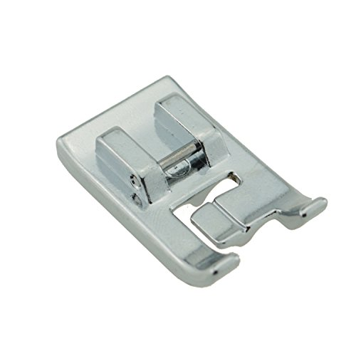 Dream Stitch Double Piping Sewing Machine Presser Foot 7mm Type-Fits All Low Shank Snap-On SingerBrother Babylock, Euro-Pro Janome Kenmore White Juki New Home Simplicity Elna and More -SA192,P87330 White Double Piping