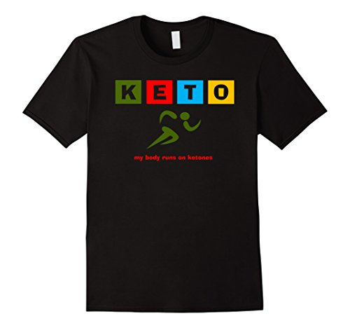 My Body Runs on Ketones! - Shirt Mens Celine T