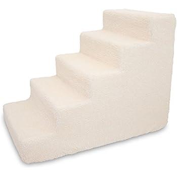 Best Pet Supplies ST220T L Foam Pet Stairs/Steps, 5 Step,