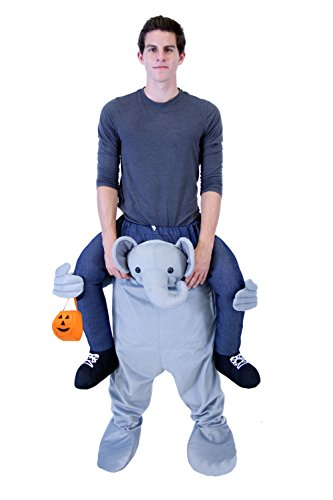 (Piggyback Ride On Elephant Teen Costume)