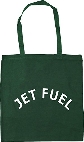 Bag Jet Shopping x38cm Gym Tote Green Beach 42cm Bottle 10 HippoWarehouse Fuel litres UqwHH