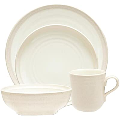 Click for Noritake 4-Piece Colorvara Place Setting, White