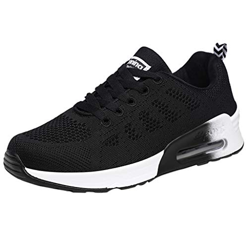 - Women's Shoes Running Walking Fashion Casual Leisure Mesh Wedge Sneakers Air Cushion Shoes Black