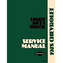 Amazon the g20 books fully illustrated 1978 chevrolet truck pickup repair shop service manual includes 4x24x4 ton ton1 ton trucks blazer suburban motorhome chassis fandeluxe Images